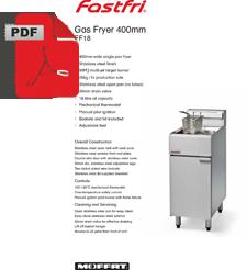 Fast Fri FF18 Economy Fryer