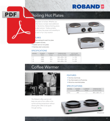 Roband KH2 Coffee Pot Warmer
