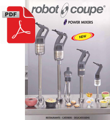 Robot Coupe CMP250VV Compact Stick Blender Variable Speed