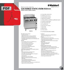 Waldorf 800 Series RN8610G Oven Range