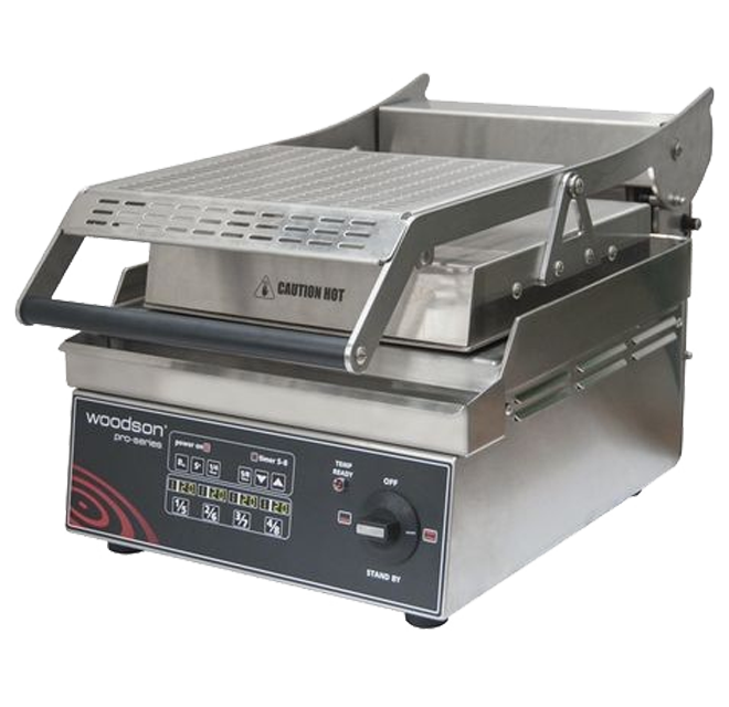 Woodson W.GPC61SC Contact Grill Station Computer Controlled