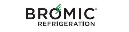 Bromic CT0080G4B Counter Top Fridge Flat Glass Black 78ltr