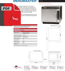 Menumaster Jetwave JET5192 Digital Convection Oven