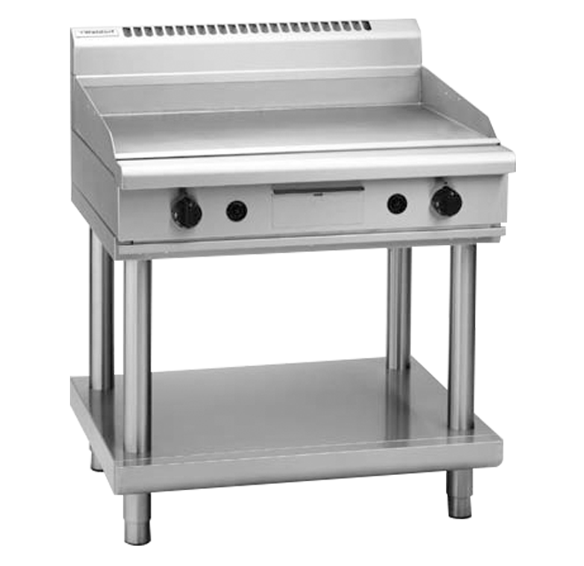 Waldorf GP8900G-CB Griddle 900mm Cabinet Base Nat Gas