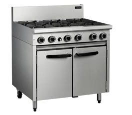 Cobra CR9D Oven Range Static 6 Burner