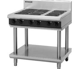 Blue-Seal-E516A-LS-Cooktop-Griddle-900mm-With-Leg-Stand