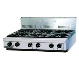 Goldstein 800 Series PFB-36 Cooktop 6 Burner