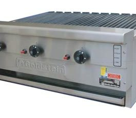 Goldstein 800 Series RBA-36L Char Broiler Radiant Line Up