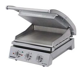 Roband GSA610S Grill Station Smooth Plates