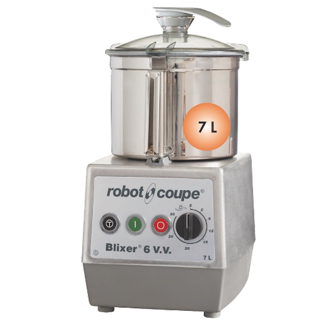 Robot Coupe BLIXER 6VV Food Processor SS Bowl