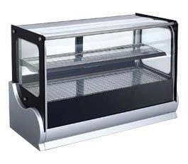 Anvil Aire DGVH0540 Hot Showcase Display Countertop Square Glass