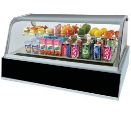 Berjaya DC211 Counter Top Display Fridge Curved Glass