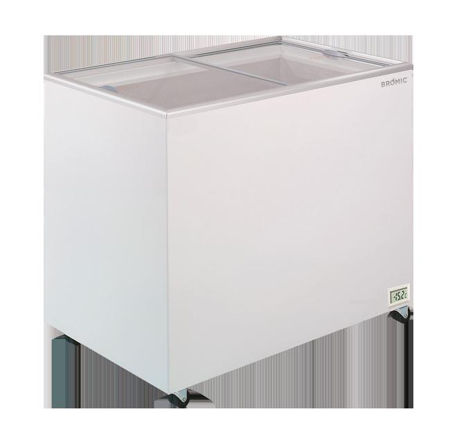 Bromic CF0300FTFG Chest Freezer Flat Glass Top 296ltr