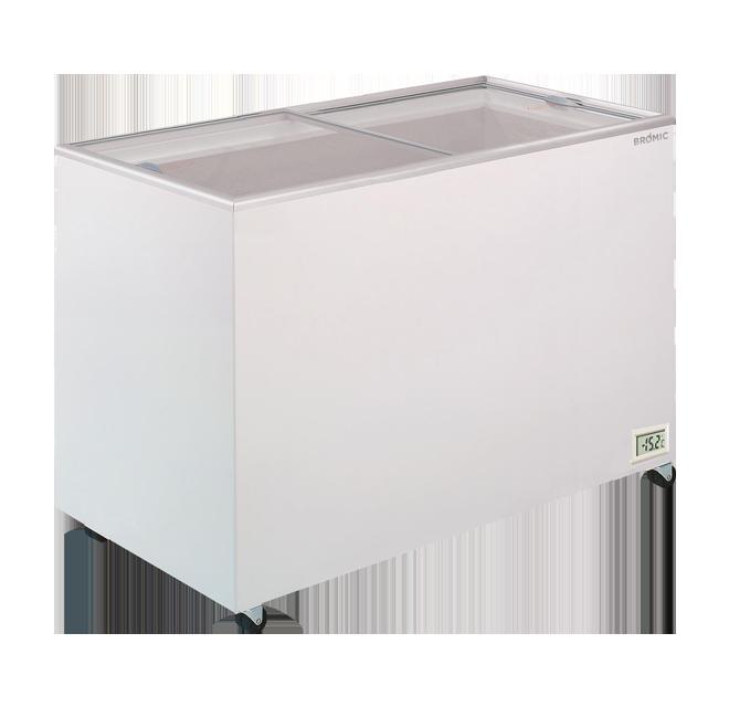 Bromic CF0400FTFG Chest Freezer Flat Glass 401ltr