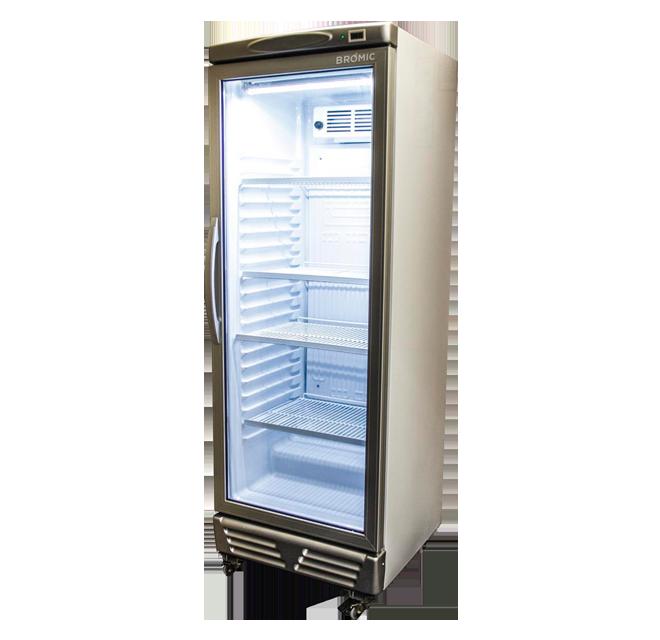 Bromic GM0300 LED ECO LED Upright Display Fridge Single Door