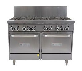 Garland Rest Series GF48-8LL Double Oven Range 8 Burner *Nat Gas