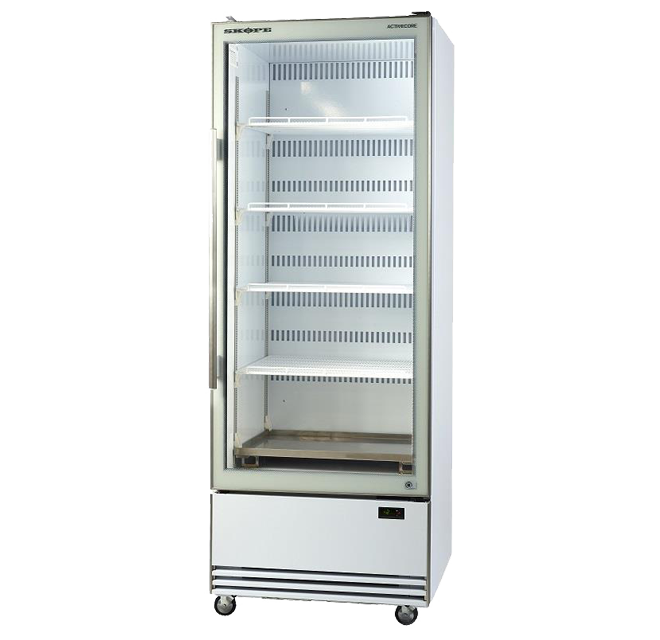 Skope BME Series BME600N-A Upright Fridge Integral ActiveCore2 White Single Door