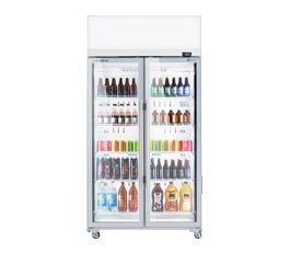 Skope TME1000N-A Fridge Integral With Active Core2 White 2 Glass Door
