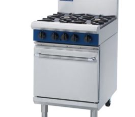 Blue Seal G504D Oven Range Static 4 Burner Nat Gas