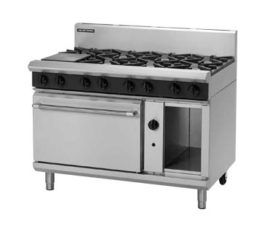 Blue Seal H.D. G508D Oven Range 8 Burner Nat Gas