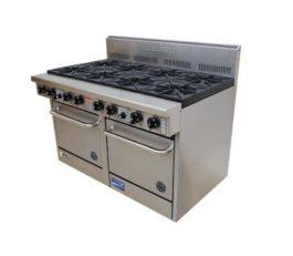 Goldstein 800 Series PF-10-228 Oven Range Double 10 Burner Nat Gas
