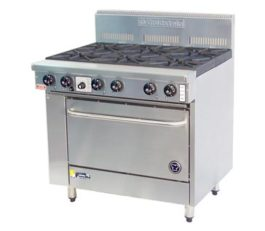 Goldstein 800 Series PF-6-28 Oven Range 6 Burners Nat Gas