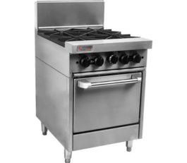 Trueheat RCR6-4-NG Oven Range Four Burner Nat Gas