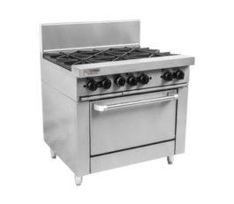Trueheat RCR9-6-NG-KIT Oven Range 6 Burner Nat Gas