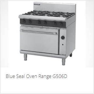 BLUE SEAL COMMERCIAL OVEN RANGE PERTH