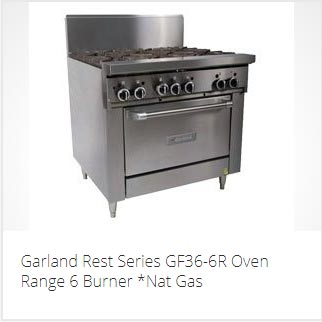 COMMERCIAL OVEN RANGE PERTH