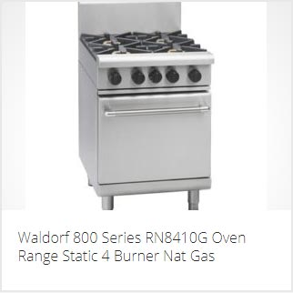 WALDORF COMMERCIAL OVEN RANGE PERTH
